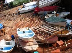 Fischerboote im Port des Canonge