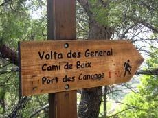 """""""Volta des General"""", so wird die Wanderung zum Port des Canonge genannt."""