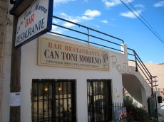 Bar Restaurant Ca'n Toni Moreno