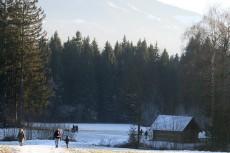 Winterwanderung am Samerberg