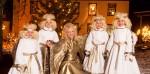 Engel beim Weihnachtsmarkt in Bad Hindelang.