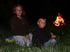 Natur erleben am Lagerfeuer